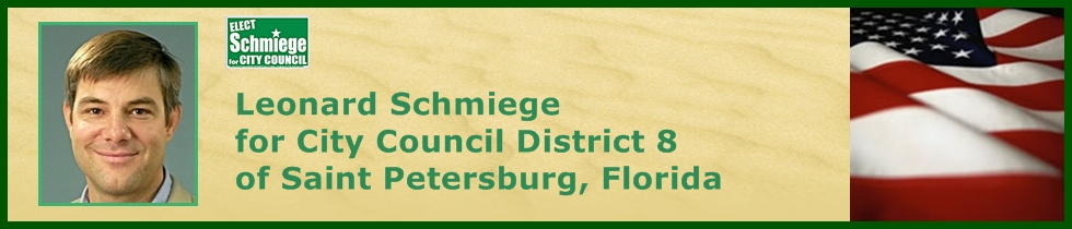 Elect Schmiege for City Council
